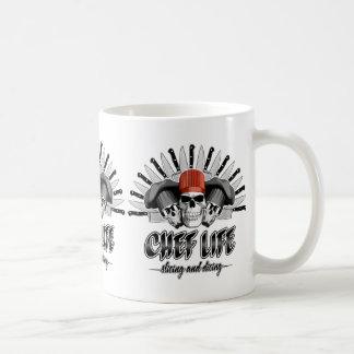 シェフの生命: スライスし、さいの目に切ること コーヒーマグカップ