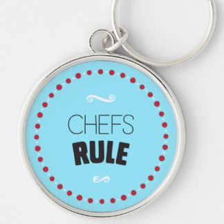 シェフの規則Keychain -青 キーホルダー