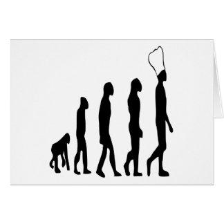 シェフの進化 グリーティングカード