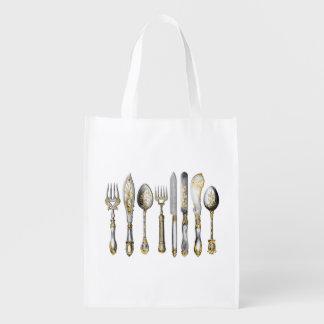 シェフの道具食器セット エコバッグ