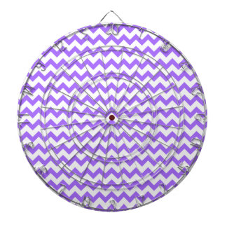 シェブロンかわいい紫色のパターン ダーツボード