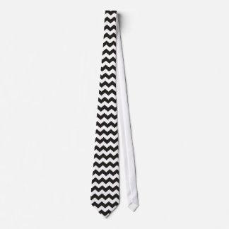 シェブロンのアステカな白黒ジグザグ形は縞で飾ります タイ