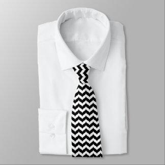 シェブロンのジグザグ形のウィングチップのストライプパターン オリジナルネクタイ