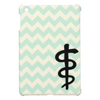 シェブロンの医学の記号のiPadの場合 iPad Mini カバー