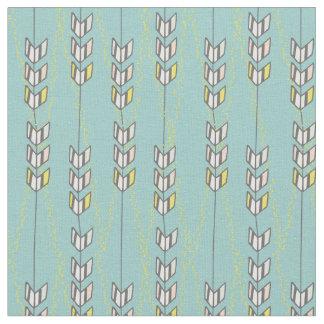 シェブロンの矢の種族の絵の綿織物 ファブリック