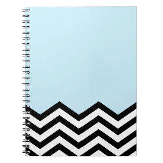 シェブロンの青い部分 ノートブック