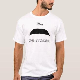 シェブロンの髭 Tシャツ
