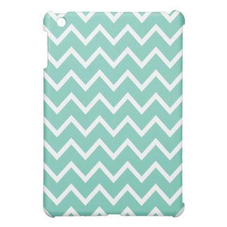 シェブロンのiPad Miniケース-ターコイズ iPad Miniカバー