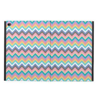 シェブロンパステル調の多彩なパターン POWIS iPad AIR 2 ケース
