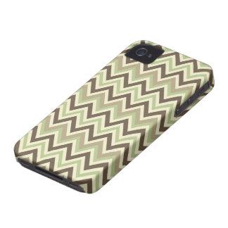 シェブロンパターンカスタムなiPhoneの穹窖 Case-Mate iPhone 4 ケース