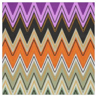 シェブロンパターン、かわいいジグザグ形の生地 ファブリック