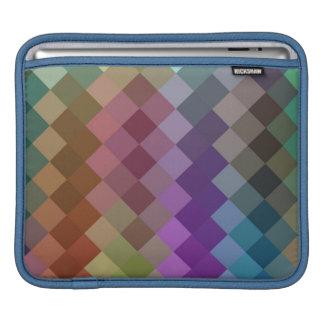 シェブロン多彩な継ぎ目が無いパターン8 iPadスリーブ