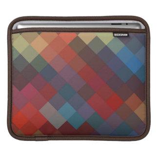 シェブロン多彩な継ぎ目が無いパターン9 iPadスリーブ