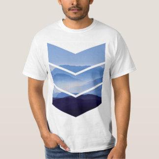 シェブロン山 Tシャツ