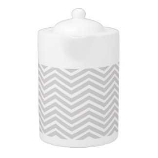 シェブロン薄い灰色および白いストライプなパターン