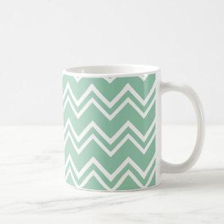 シェブロン2のアメリカツガ コーヒーマグカップ