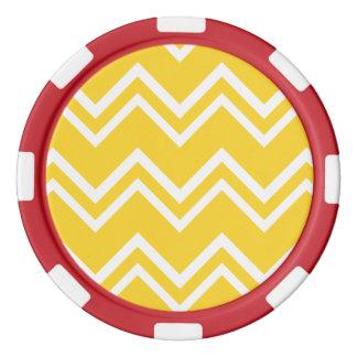 シェブロン2のフリージア ポーカーチップ