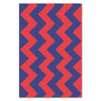 シェブロン の濃紺及び赤 タイプまたはサイズ の習慣 薄葉紙