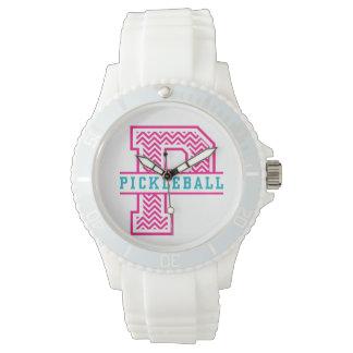 シェブロンPはPickleballの腕時計のためです 腕時計
