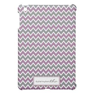 シェブロンPern (ラベンダー) iPad Miniカバー