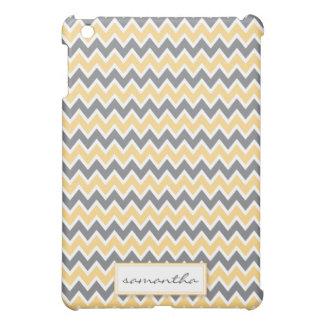 シェブロンPern (黄色) iPad Miniケース