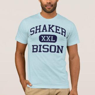シェーカー-バイソン-高等学校- Lathamニューヨーク Tシャツ