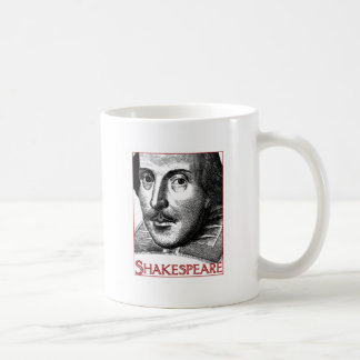シェークスピアのシンプルなロゴ コーヒーマグカップ