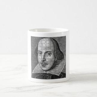 シェークスピアのジグソーパズル コーヒーマグカップ