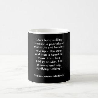 シェークスピアのマクベス-コーヒー・マグ コーヒーマグカップ