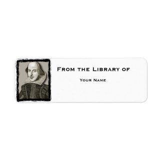 シェークスピアの図書館のラベル ラベル
