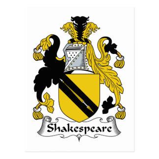 シェークスピアの家紋 ポストカード
