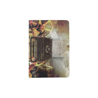 シェークスピアの引用文の感動的なパスポートのホールダー パスポートカバー
