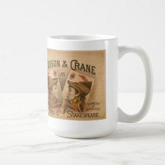 シェークスピアの悪党が襲うようにロブソン及びクレーン コーヒーマグカップ