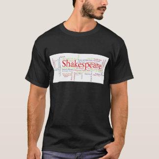 シェークスピアの戯曲によってインスパイアワイシャツ、マグ、等 Tシャツ