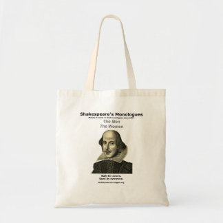 シェークスピアの独白の戦闘状況表示板 トートバッグ