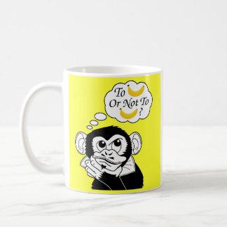 シェークスピアの猿 コーヒーマグカップ