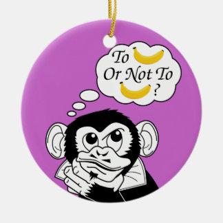 シェークスピアの猿 セラミックオーナメント