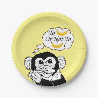 シェークスピアの猿 ペーパープレート