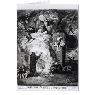シェークスピアは、または提供に犠牲になりました カード