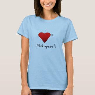 シェークスピア愛 Tシャツ