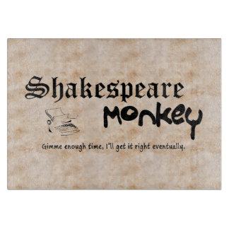 シェークスピア猿のまな板 カッティングボード