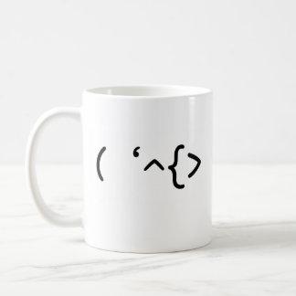 シェークスピア-顔文字 コーヒーマグカップ