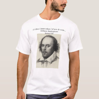 シェークスピア Tシャツ