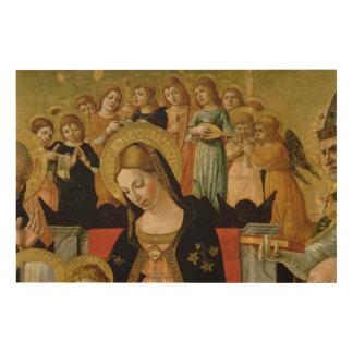 シエナの聖者キャサリンの結婚 ウッドウォールアート