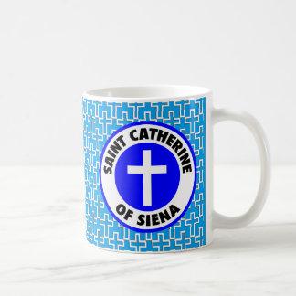シエナの聖者キャサリン コーヒーマグカップ