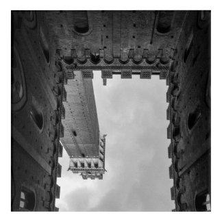 シエナの逆さまタワー アクリルウォールアート
