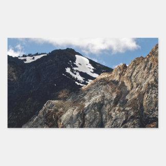 シエラネバダ山脈の景色 長方形シール