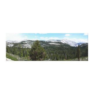 シエラネバダ山脈山ヨセミテからのII キャンバスプリント