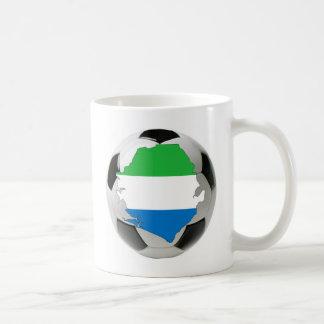 シエラレオネの全国代表チーム コーヒーマグカップ