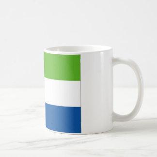 シエラレオネの国旗 コーヒーマグカップ